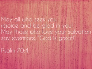 Psalm70